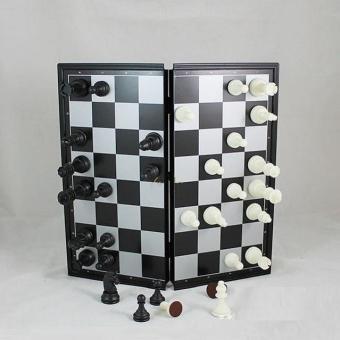 Bộ cờ vua nam châm cỡ nhỏ - Tiện dụng khi mang ra ngoài chơi