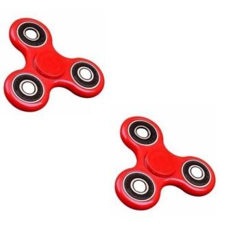 Mua Bộ 2 Đồ Chơi Giúp Xả Stress Fidget Spinner (Đỏ) giá tốt nhất