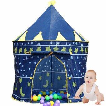 Lều chơi Hoàng Tử cho bé (Xanh)