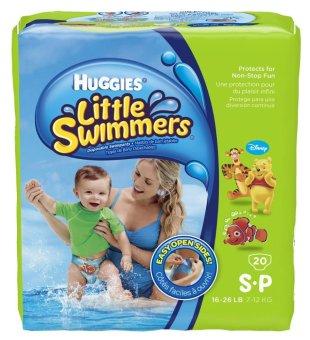Tã quần chuyên cho bé đi bơi Huggies SP20 20 miếng
