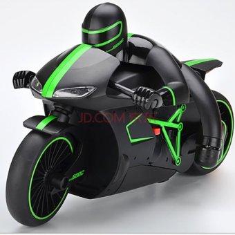 Mô tô đua siêu tốc độ điều khiển từ xa (Xanh)