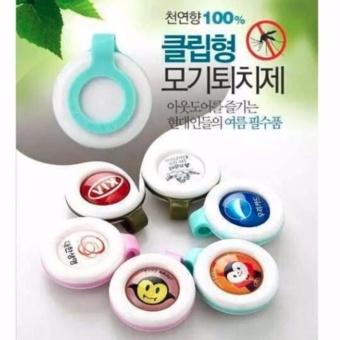 Bộ 9 kẹp chống muỗi Hàn Quốc tinh dầu thảo dượccho bé yêu