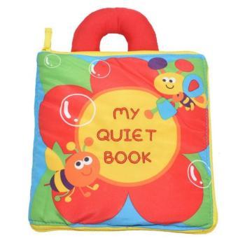 Sách vải Jollybaby My quiet book cho bé chơi mà học