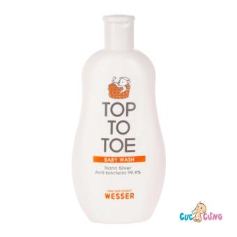 Sữa tắm gội Wesser Nano Silver TOP TO TOE 200ml