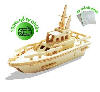 Đồ chơi xếp hình thuyền 3D Puzzle Wooden HPM5924