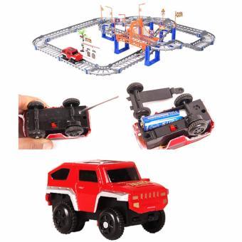 Bộ đồ chơi ô tô đường ray cho bé