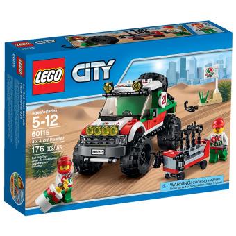 Hộp LEGO City 60115 Xe Đua Địa Hình Lego 176 chi tiết