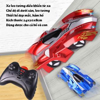 Ô tô đồ chơi leo tường điều khiển từ xa kiểu dáng xe đua KIDNOAM