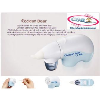 Máy hút mũi CoClean Bear – COBR 100 (Xanh)