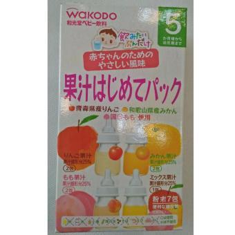 Trà wakodo mix 4 vị 5m new