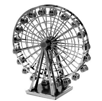 Bộ xếp hình 3D bằng kim loại FERRIS WHEEL và CỐI XAY GIÓ HÀ LAN