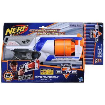 Súng Nerf N-Strike Elite Strongarm và hộp đạn chính hãng Nerf 12 viên