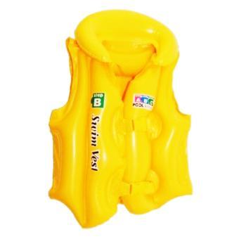 Áo phao OEM trẻ em Swim West (vàng) - Size M