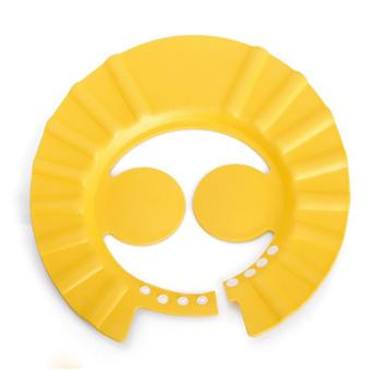 Mũ Chắn Nước Có Vành Che Tai Cho Bé (Vàng)