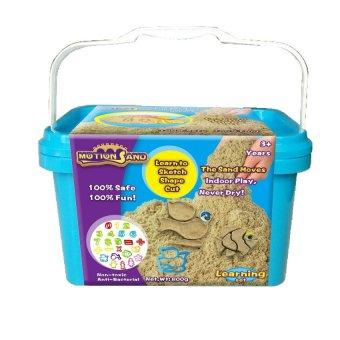 Bộ đồ chơi cát tạo hình học số và hình ảnh