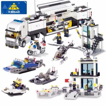 Bộ đồ chơi xếp hình lego siêu cảnh sát
