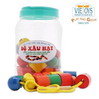 Bộ xâu hạt hũ nhựa Vietoys VT3P-0050