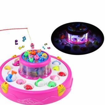 Bộ đồ chơi Câu cá 2 tầng cho bé yêu giải trí