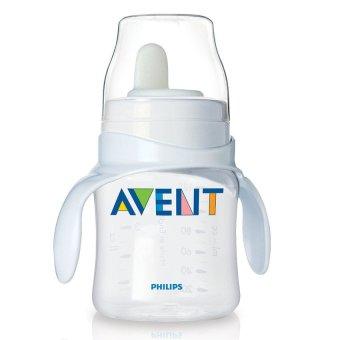Bình tập uống cho trẻ tự uống nước trên 4 tháng Philips Avent