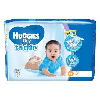 Tã dán Huggies Dry Jumbo M42