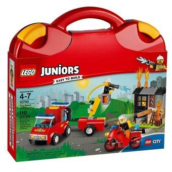 Bộ Vali LEGO Juniors10740 tuần tra cứu hỏa 110 chi tiết