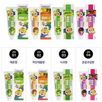 Kem đánh răng trẻ em hương dứa Pororo Hàn Quốc 90g - Hàng Chính Hãng