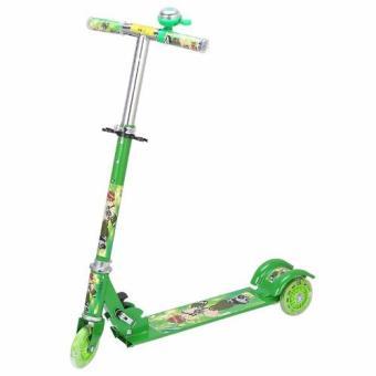 Xe scooter 3 bánh phát sáng, có chuông
