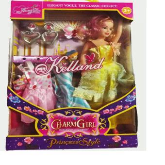 bộ đồ chơi thay trang phục puple cho bé gái