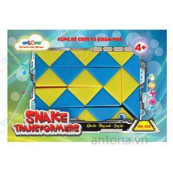 Đồ chơi Anto Snake transformers - Hộp chữ nhật Anto