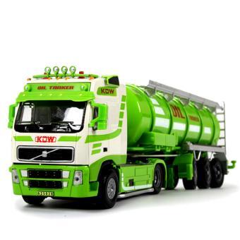 Mô hình sắt tỉ lệ 1/50 xe tải chở bồn dầu