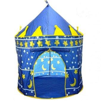 Lều dù lâu đài cho bé yêu thỏa sức vui chơi và sáng tạo (Xanh)