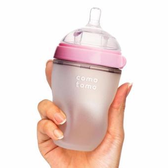 Bình sữa Comotomo 250ml đơn hồng BS022 (Hồng)