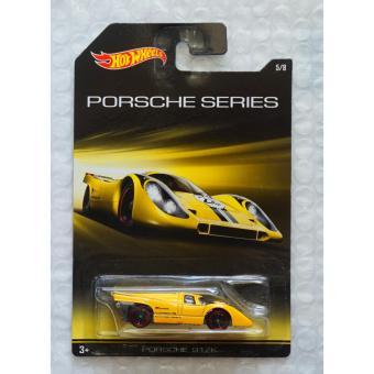 Xe ô tô mô hình tỉ lệ 1:64 Hot Wheels Porsche Series Porsche 917K - Vàng