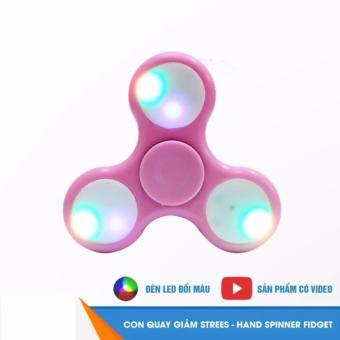 Mua Con Quay Giảm Stress 3 Cánh Hand Spinner (Có Đèn Led) giá tốt nhất