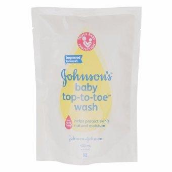 Túi Refil Johnson's Baby Top-To-Toe (400ml)