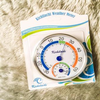 Nhiệt ẩm kế Kichilachi TH101E đo nhiệt độ phòng cho bé (Trắng)
