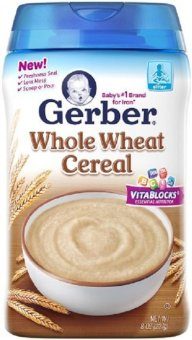 Bột ăn dặm GERBER Cereal Whole Wheat 227g