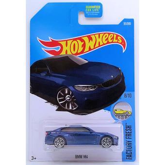 Xe mô hình tỉ lệ 1:64 Hot Wheels 2017 BMW M4 55/365 - Xanh