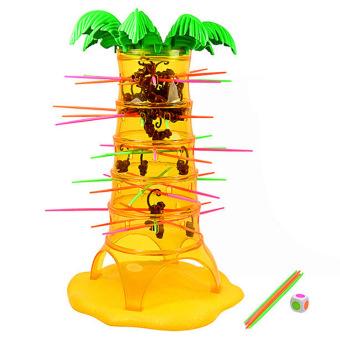 New Fashion Children Babies Kids Falling Tumbling Monkeys Board Game Educational Toy - intl