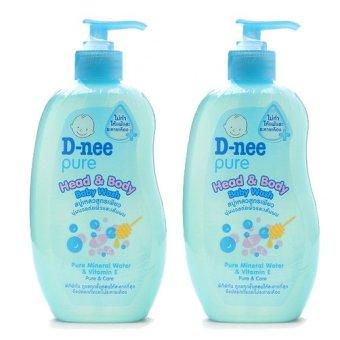 Bộ 2 Tắm gội toàn thân cho bé D-nee Pure 380ml