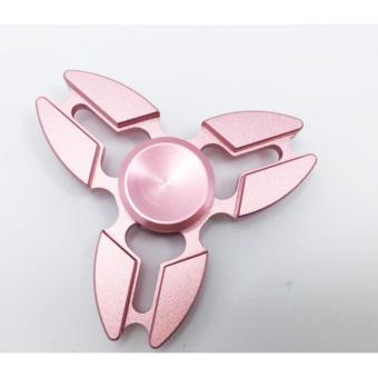 Con quay 3 cánh Fidget Spinner Sakura cao cấp màu hồng ( Hàng chất lượng loại 1)