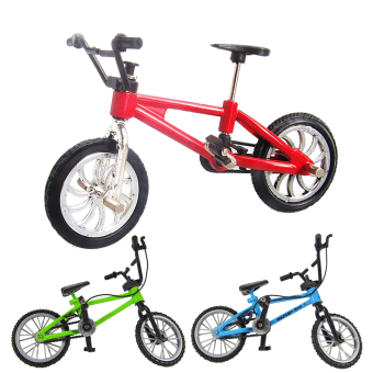 Functional Finger Mountain Bike + Spare Tire + Tools Fixie Bicycle Boy Toy (Intl)