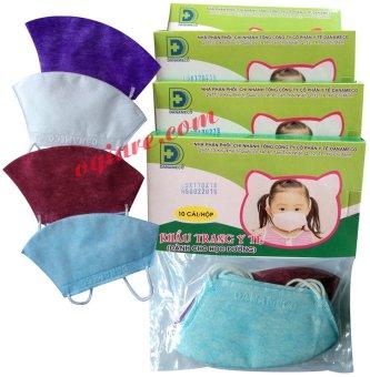 Bộ 4 hộp khẩu trang y tế Danameco cho bé
