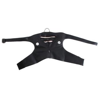 Lalang Cosplay Mask Ghoul Kaneki Ken PU Leather Black