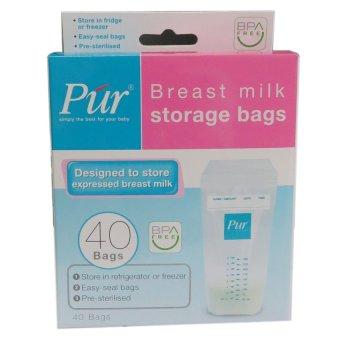Túi trữ sữa Púr hộp 40 túi