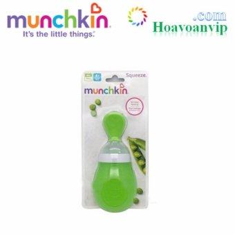 Bình Thìa Ăn Dặm Munchkin MK15807 - 150ml (Xanh lá thẫm)