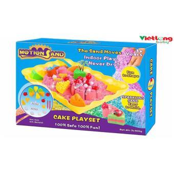 Bộ chơi cát tạo hình bánh sinh nhật MS-25