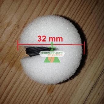 Bộ 3 tấm 144 viên Mút xốp ươm hạt (d32 x h32)