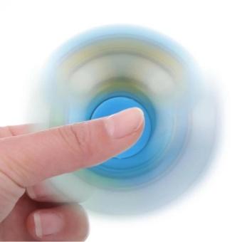 Đồ chơi giúp xả Stress con quay Fidget Spinner (Xanh dương)