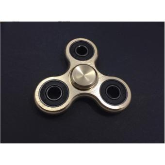 Con quay 3 cánh Fidget Spinner cao cấp xả stress màu Vàng( Hàng chất lượng loại 1)